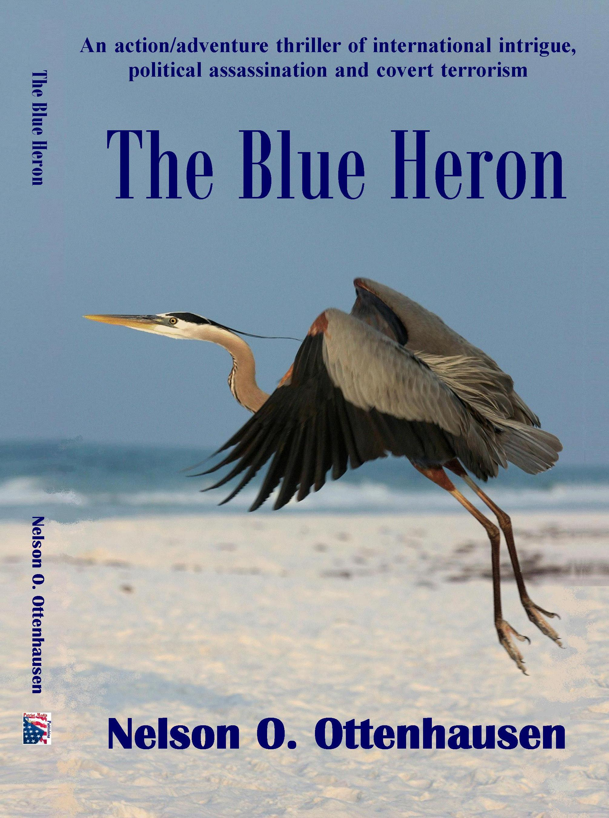 The Blue Heron by Nelson Ottenhausen
